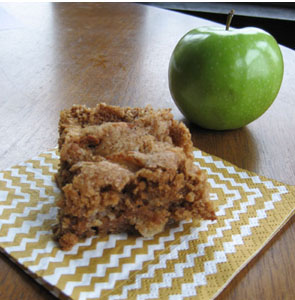 My Sister's Apple Crunch Cake - Whipped