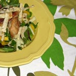 Grilled Chicken, Mango & Jicama Salad with Tequila-Lime Vinaigrette