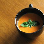 Warming Up with Tomato Basil Soup