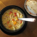 My First Date with Chicken Corn Chowder