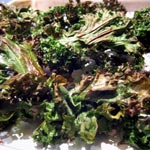 Roasted Kale with Olive Oil and Sea Salt
