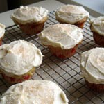 Five Star Buttermilk Cupcakes with Lemon Frosting