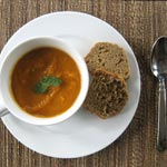 Curried Sweet Potato and Carrot Soup