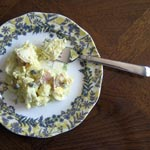 Light Potato Salad with Sour Cream and Capers