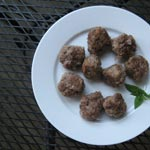 Keftedes – Greek Meatballs