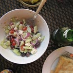 Horiatiki – Greek Peasant Salad