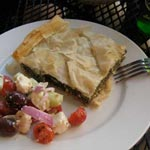 Spanakotiropita – Greek Spinach and Cheese Pie