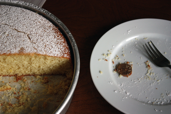 Vasilopita - Greek New Year's Cake - Whipped