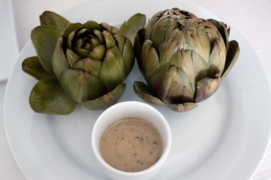 How to cook a artichoke
