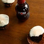 POM Chocolate Cupcakes with Cream Cheese Frosting