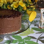 Chocolate Layer Birthday Cake