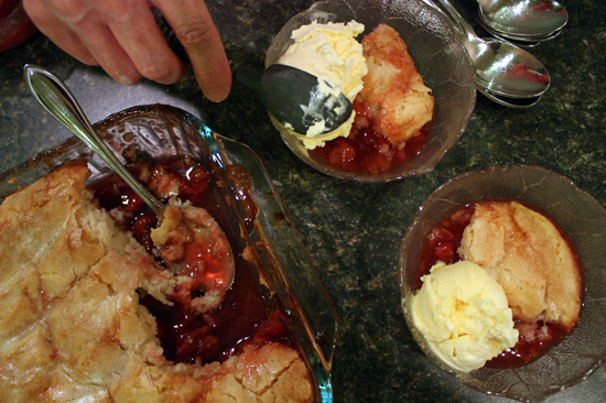 Sweet Cherry Cobbler Recipes — Dishmaps