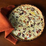 Greek Quiche with Feta, Olives & Sun Dried Tomatoes