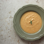 Sweet Potato Soup with Coconut Milk and Sage