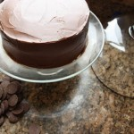 Devil's Food Cake with Milk Chocolate Fudge