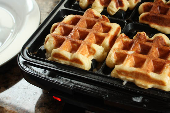 "Liege ""Sugar"" Waffles, Perfected - Whipped"