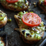 Leek and Brie Bruschetta