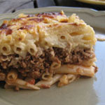 Pasticcio – Greek Baked Macaroni with Meat Sauce