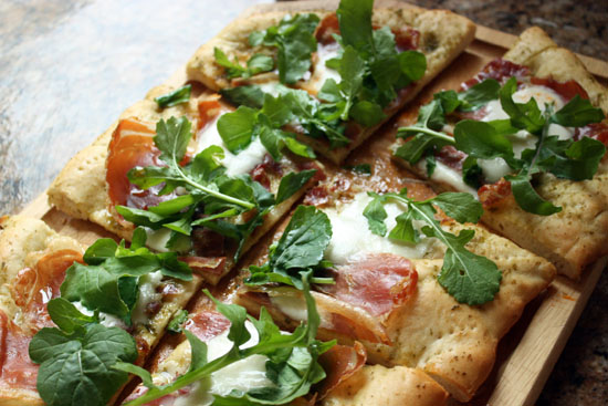 pizza-arugula