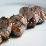 Pork Tenderloin with Apple Cider Glaze