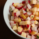 Radish and Apple Salad