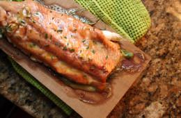 salmon-plank-dill