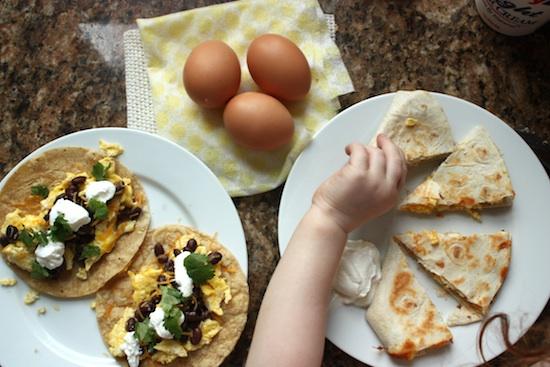 Egg-taco