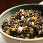 Quinoa with Mozzarella and Fresh Oregano