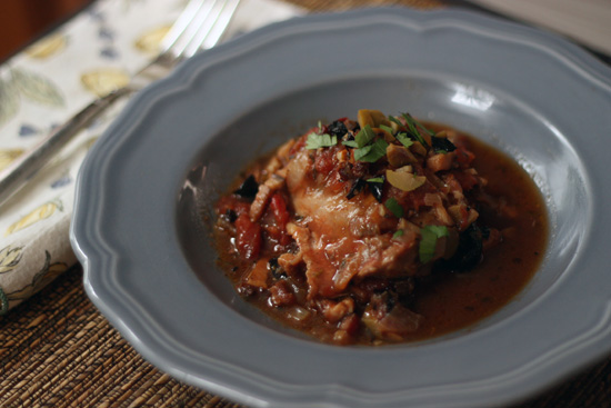 Whipped » French-Country Chicken with Olives