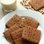 Homemade Honey Cinnamon Graham Crackers