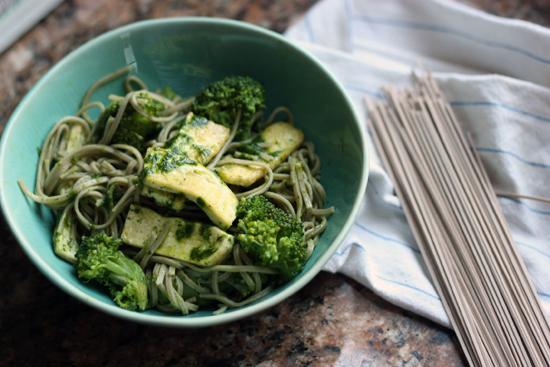 Soba-broccoli-tofu