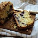 Blueberry Cake Loaf with Streusel Topping