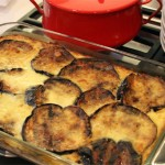 Moussaka (Greek Eggplant Casserole)