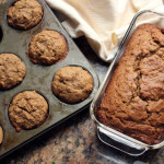 Whole Wheat Banana Bread or Banana Muffins