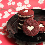 Red Velvet Sandwich Cookies