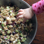 Bulgur Salad with Feta, Cucumber & Kalamata Olives