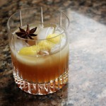 Spiced Cider Bourbon Cocktail