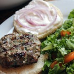Lamb Burgers with Feta Spread