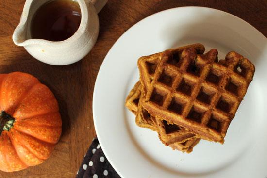 Pumpkin-waffles
