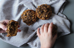 oatmeal-pumpkin-muffin-chocolate-chip