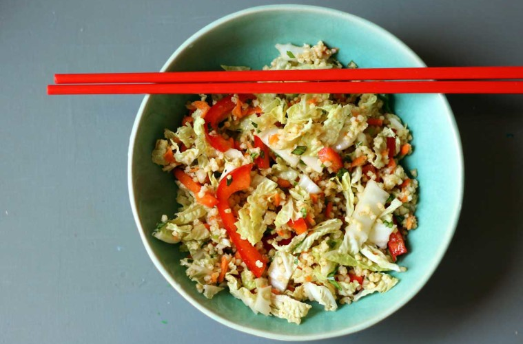 Spring-Roll-Salad