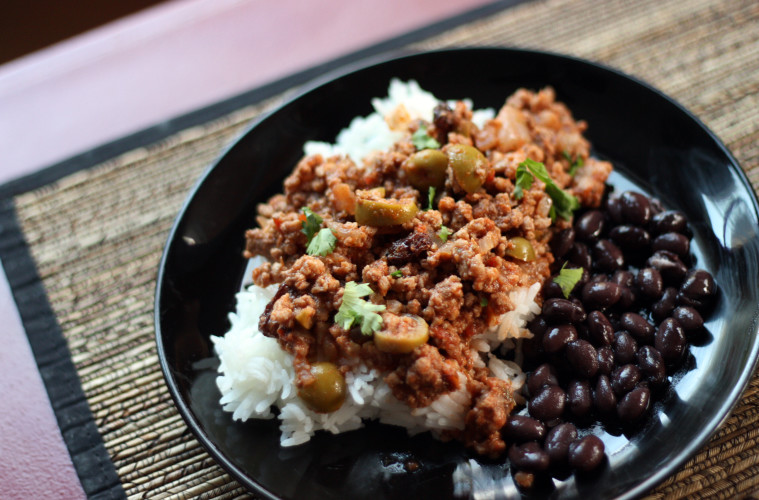 Cuban Picadillo - Whipped